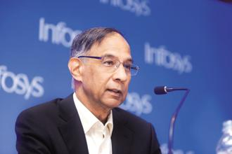 Infosys chairman R. Seshasayee. Infosys had on Friday released a six-page note blaming co-founder N.R. Narayana Murthy for CEO Vishal Sikka's resignation. Photo: Abhijit Bhatlekar/Mint