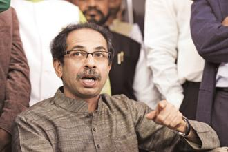 Shiv Sena president Uddhav Thackeray. Photo: HT