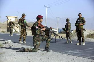 Some Afghans complain that fear of Islamabad's reaction has kept India from selling arms that the Afghan Army badly needs. Photo: AP