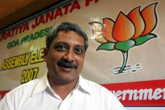 Bharatiya Janata Party's (BJP) Siddharth Kuncalienkar resigned in May from Panaji constituency to make way for Goa chief minister Manohar Parrikar, who is not a member of the state assembly yet. Photo: HT