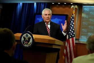 US secretary of state Rex Tillerson seeks India's help in changing Pakistan's behaviour. Photo: Reuters