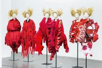 'Clothes/Not Clothes: War/Peace' from the Rei Kawakubo exhibit at the MET, New York. Photo: The Metropolitan Museum of Art