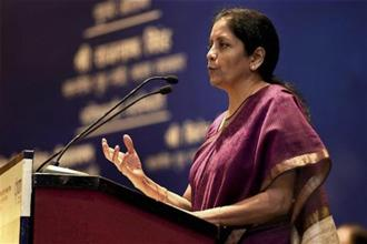 Commerce and industry minister Nirmala Sitharaman. The task force head, V. Kamakoti, said the committee will focus on a wide spectrum of areas including agriculture and transportation. Photo: PTI