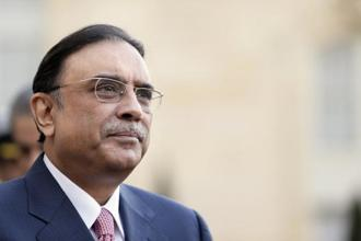A file photo of Asif Ali Zardari. Photo: AFP