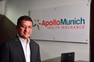 Antony Jacob, CEO, Apollo Munich Health Insurance; Photo: Pradeep Gaur/Mint