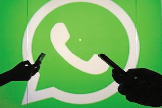 In the last three years WhatsApp's user base has quadrupled from 50 million to 200 million subscribers. Photo: Bloomberg