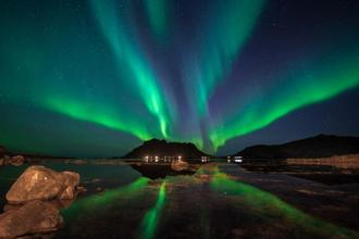 Northern Lights, as seen in Norway; Photo: iStock