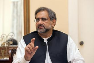 A file photo of Pakistan's prime minister Shahid Khaqan Abbasi. Photo: Bloomberg