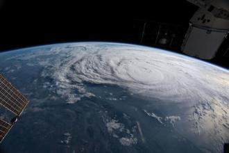 Hurricane Harvey is yet another of several recent weather disasters marked by such shocking staying power, punishing whole regions for days or weeks on end—and longer. Photo: Reuters/Nasa