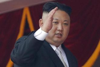 A file photo of North Korean leader Kim Jong-un. The threat from Pyongyang is growing, but it isn't yet imminent, said general Paul Selva, the no. 2 US military official. Photo: AP