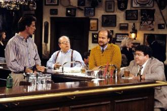 A still from 'Cheers'.