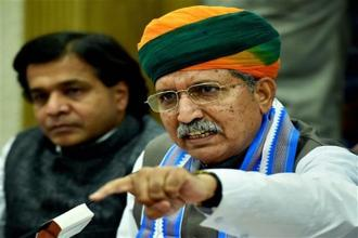 Arjun Ram Meghwal said a team of 180 officials and 30 ministers is on the job. Photo: PTI