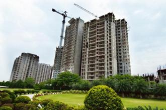 Developers, particularly in the national capital region— worst hit by the slowdown—have been struggling to reduce debt. Photo: Ramesh Pathania/Mint