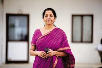 Defence minister Nirmala Sitharaman. Photo: Pradeep Gaur/Mint