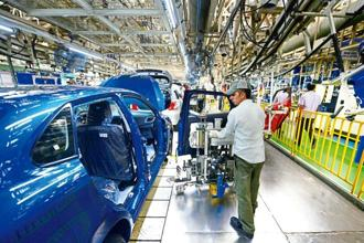 Crisil warns that manufacturing growth could slow down to 7.6% in 2017-18 from 7.9% recorded in 2016-17. Photo: Mint
