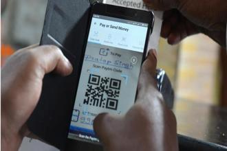 With 50 large service providers enabling BharatQR service, more than 300 million consumers will be able to use the digital payments services. Photo: Hemant Mishra/Mint