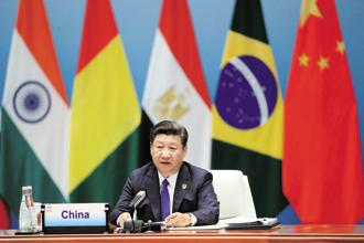 Problems arising from a conflict of interest among BRICS nations do loom large. For example, there are concerns about China in Brazil, India, and South Africa, all of whom run massive trade deficits with China. Photo: AFP