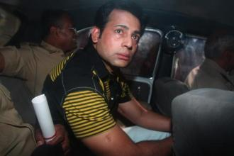 A file photo of gangster Abu Salem. Photo: Arijit Sen/Hindustan Times