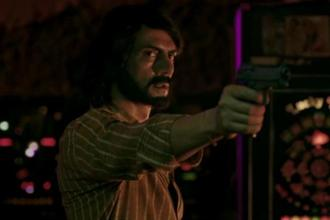 Arjun Rampal in a still from 'Daddy'.