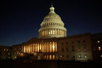 The 80-17 vote on Thursday would suspend the debt limit and keep the government open through 8 December. Photo: Reuters