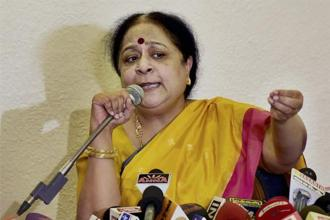 A file photo of former environment minister Jayanthi Natarajan. CBI has registered its FIR against Natarajan, Umang Kejriwal, the then managing director of Electrosteel Casting Ltd, among others. Photo: PTI