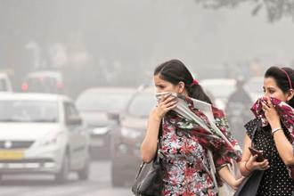 Delhi has consistently ranked high in lists of most polluted cities in the world. Photo: HT