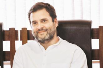 File photo. Congress vice president Rahul Gandhi also accused the Narendra Modi government of wiping out millions by demonetisation. Photo: AP
