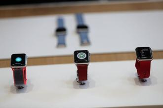 At $399, the new Apple Watch is only slightly more expensive than the previous model, the $329 series 2. Photo: AP