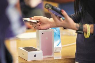 Apple's the latest flagship version of the iconic smartphone will be especially expensive for consumers in India. Photo: Reuters
