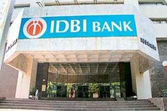 IDBI Bank stock closed 1.53% higher at Rs56.55 on BSE today Photo: Mint