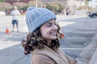 Kangana Ranaut in a still from 'Simran'.