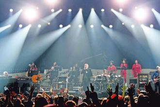 Phish performing at the MGM Grand Garden Arena, Las Vegas on 31 October. Photo: Getty Images