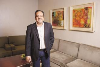 A file photo of Punit Goenka, managing director and chief executive officer of Zee Entertainment Enterprises. Photo: Abhijit Bhatlekar/Mint
