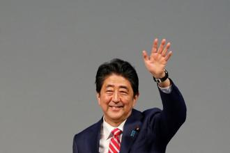 A file photo of Japanese Prime Minister Shinzo Abe. Photo: Reuters