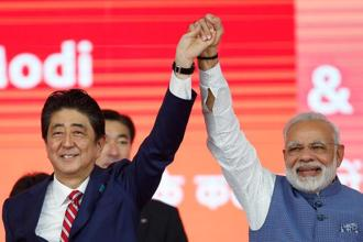 Shinzo Abe and Narendra Modi. There is unmatched intent and willingness in the India-Japan relationship to collaborate on new areas and across the region. Photo: Reuters
