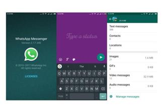 WhatsApp has added a new page in the storage section to provide users a sneak peek into the exact amount of internal memory an ongoing chat with a friend or a group is occupying on the smartphone.