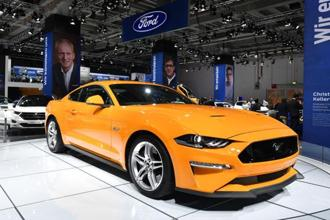 Ford has less than a 3% market share in India, although its exports from India are expanding rapidly. Photo: AP
