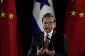 A file photo of Chinese foreign minister Wang Yi. The Korean Peninsula nuclear problem must be solved through peaceful means, Chinese foreign ministry quoted Wang Yi as saying. Photo: Reuters