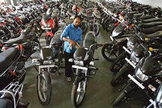 The 75 million sales milestone is in line with Hero MotoCorp's vision of surpassing 100 million two-wheelers in cumulative sales by 2020, said a senior Hero MotoCorp official. Photo: Reuters