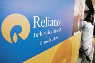 Share prices of Reliance Industries hit a record high of Rs872.10, up 3.8%, in intraday trading on Wednesday on news of the IUC cut. Photo: Mint