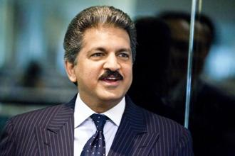 Anand Mahindra. Mahindra and Mahindra Ltd has announced a partnership with Ford to cooperate in areas including driverless and electric cars. Photo: Bloomberg