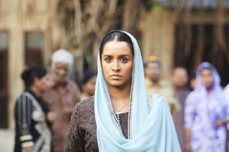 Shraddha Kapoor in a still from 'Haseena Parkar'.