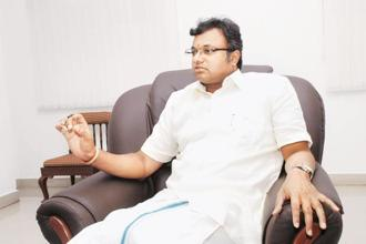 The case against Karti Chidambaram pertains to an FIR lodged by the CBI on 15 May, alleging irregularities in FIPB clearance to INX Media for receiving overseas funds to the tune of Rs305 crore in 2007 when his father was the finance minister during the then UPA government. Photo: Mint