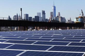 The US International Trade Commission's decision now threatens to upend the $29 billion US solar industry. Photo: AP