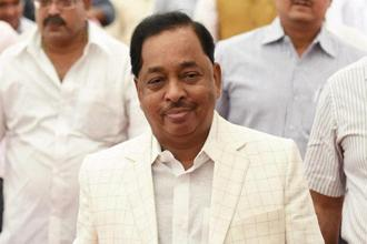Former Maharashtra CM Narayan Rane was the chief minister of Maharashtra in 1999 when he was in the Shiv Sena. Photo: PTI