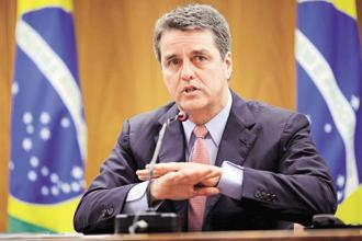 WTO director general Roberto Azevedo. The WTO's  eleventh ministerial meeting begins in Buenos Aires on 10 December. Photo: Reuters