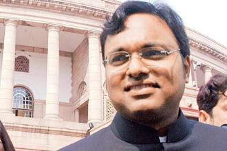 The ED also alleged that Karti Chidambaram had 'disposed' off a property in Gurgaon and had closed certain bank accounts and attempted to close other bank account. Photo: HT