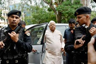 File photo. The maintenance contract for two IRCTC hotels were given to a private firm when Lalu Prasad was railway minister. Photo: PTI
