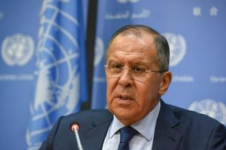 Russian foreign minister Sergei Lavrov has said thousands of innocent people will suffer in the absence of a diplomatic solution to the North Korea crisis. Photo: Reuters