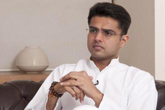 Rajashtan Pradesh Congress Committee president Sachin Pilot has said villagers were feeling neglected under the BJP rule. Photo: Ramesh Pathania/Mint